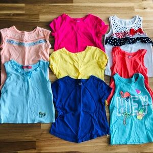 ❌SOLD❌ Girls 3t T-shirt Lot
